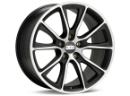 "BBS SV Satin Sort/poleret 20""(0561374#)"