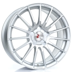 "2FORGE ZF1 SILVER 17""(757C10AS2FZF1)"