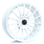 "2FORGE ZF1 WHITE 17""(757C10WH2FZF1)"
