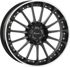 "Breyton Magic CW Glossy Black with Polished Lip 18""(Magic CW 1)"