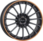 "Breyton Magic CW Matt Grey with Orange Anodized Lip 18""(Magic CW 3)"