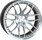 "Breyton Race GTP Hyper Silver with Polished Lip 19""(Race GTP 1)"