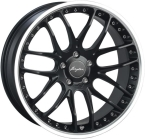 "Breyton Race GTP Matt Black with Polished Lip 19""(Race GTP 2)"