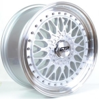 "GTP 72 Silver/Poleret kant 17""(727T)"
