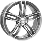 "Monaco Rr8m Anthracite & Polished ANTHRACITE & POLISHED 17""(EW420114)"