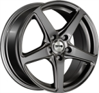 "Tekno Wheels Tekno X60 Dark Anthracite Gloss DARK ANTHRACITE GLOSS 15""(EW428510)"