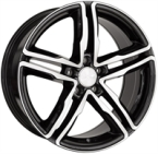 "Wheelworld Wh11 Black Full Machined BLACK FULL MACHINED 17""(EW320145)"