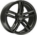 "Wheelworld Wh11 Dark Gunmetal DARK GUNMETAL 17""(EW317779)"