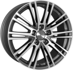 "Wheelworld Wh18 DGP DAYTONA GRAY POLISHED 18""(EW324973)"