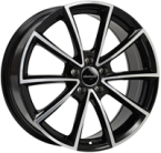 "Wheelworld Wh28 Black Full Machined BLACK FULL MACHINED 17""(EW324216)"