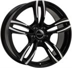 "Wheelworld Wh29 Black Full Machined BLACK FULL MACHINED 19""(EW325478)"