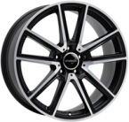 "Wheelworld Wh30 Black Matt Full Machined BLACK MATT FULL MACHINED 17""(EW325321)"