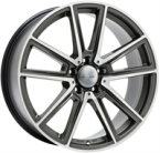 "Wheelworld Wh30 Daytona Grey Full Machined DAYTONA GREY FULL MACHINED 17""(EW325968)"