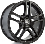 "RH BE Twin Racing Schwarz lacki 16""(GTALU842-149)"