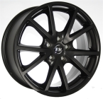 "RH DE Sports Typ431 Racing Schwarz lacki 17""(GTALU842-661)"