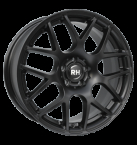 "RH NBU Race Racing Schwarz lacki 17""(GTALU842-423)"