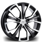 "Riviera ULTIMATE BLACK POLISHED 20""(RIVIERAULTIMATE2085512072645BP-v1)"