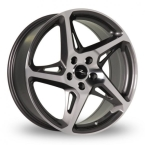 "River R4 Gunmetal - Polished Face Gunmetal / Polished Face 19""(R19855112GHRR445)"