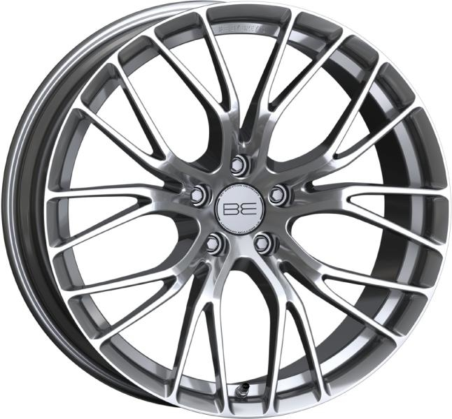 BE by Breyton Force 4 Hyper Silver 17""