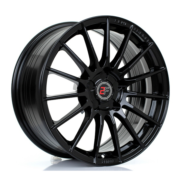 2FORGE ZF1 GLOSS BLACK 17""
