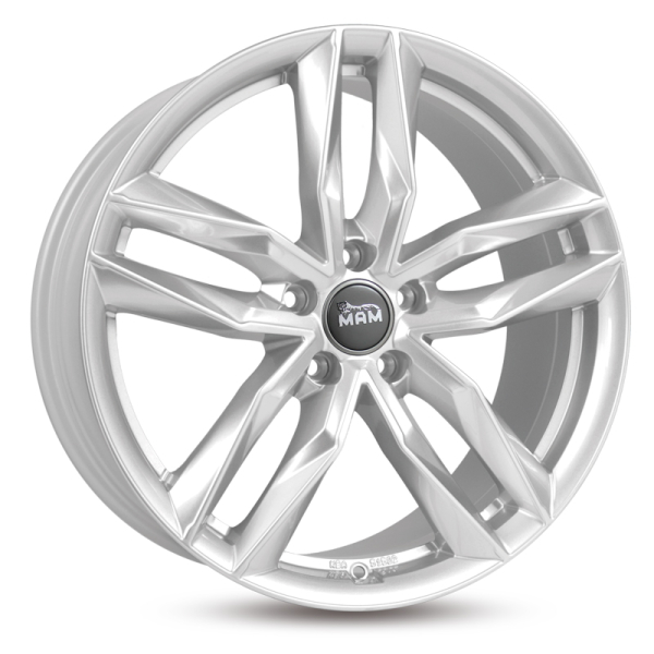 Mam RS3 Silver Painted Silver Painted 17""