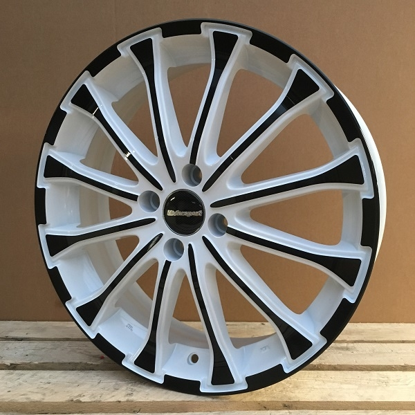 WheelPower H461 Hvid/ Sort front 17""