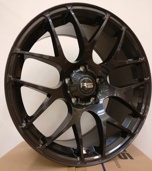 RS Beta Dark Zinc 18""