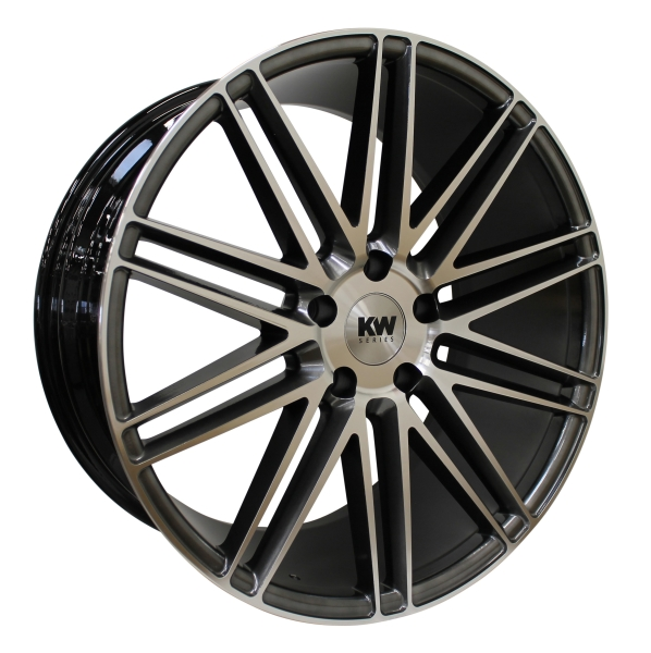 KW-SERIES S20 CONCAVE antrasite/polished 20""