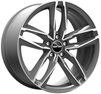 GMP DEDICATED Atom Anthracite Polished ANTHRACITE POLISHED 17""