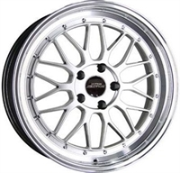 InterAction Le Mans Silver & Pol. SILVER & POLISHED LIP 17""