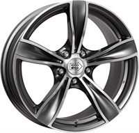 1000 Miglia MM033 Anthracite Polished ANTHRACITE POLISH 17""
