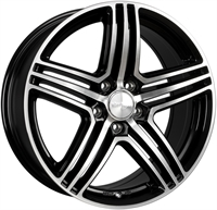 Wheelworld Wh12 Black Full Machined BLACK FULL MACHINED 18""