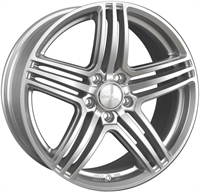 Wheelworld Wh12 Full Silver FULL SILVER 17""