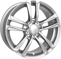 Wheelworld Wh19 S SILVER 17""
