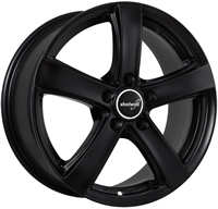 Wheelworld Wh24 Black Matt BLACK MATT 16""