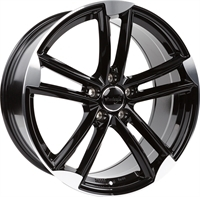 Wheelworld Wh27 Black Full Machined BLACK FULL MACHINED 18""