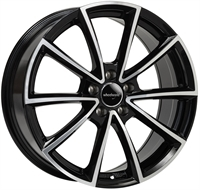 Wheelworld Wh28 Black Full Machined BLACK FULL MACHINED 17""