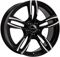 Wheelworld Wh29 Black Full Machined BLACK FULL MACHINED 19""