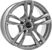 Wheelworld Wh29 Daytona Grau Lackiert   M+S Ece 17805 DAYTONA GREY 17""