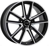 Wheelworld Wh30 Black Matt Full Machined BLACK MATT FULL MACHINED 17""