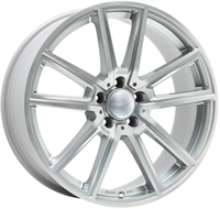 Wheelworld Wh30 Silver Full Machined SILVER FULL MACHINED 17""