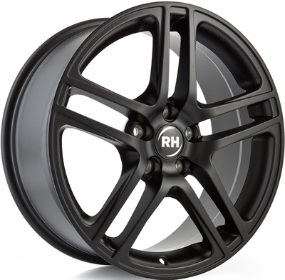 RH BE Twin Racing Schwarz lacki 16""