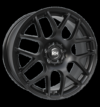 RH NBU Race Racing Schwarz lacki 17""