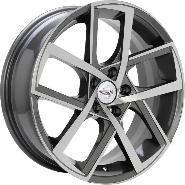 SPATH SP45 Anthracite polished 17""