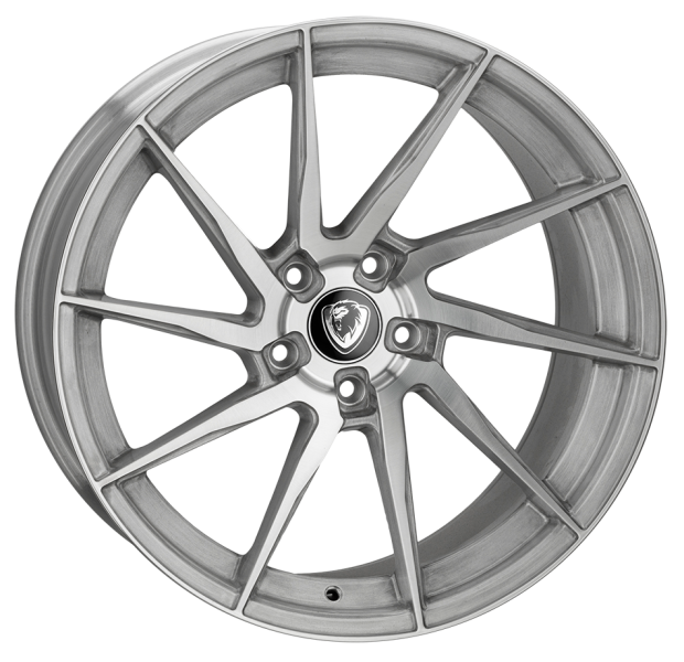 Cades Kratos Brushed Silver 20""