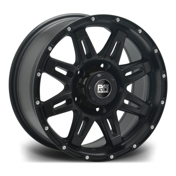 RIVIERA XTREME RX600 BLACK MILLED 20""
